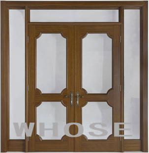 对开造型门连窗产品图片,对开造型门连窗产品相册 北京忽视木门有限