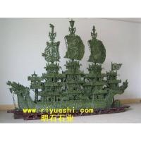 武汉玉雕龙船 玉雕 石雕 石材加工