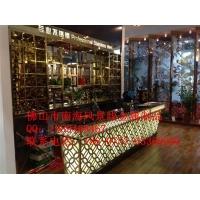 上海不锈钢吧台/酒柜/屏风 图片