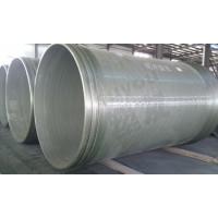 大口径定长缠绕玻璃钢管,玻璃纤维增强塑料夹砂管,玻璃钢管