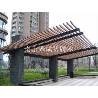 南京防腐木葡萄架-南京聚成防腐木-23