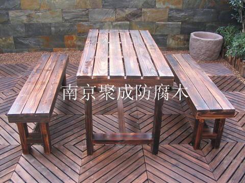 淮安炭化木木材-南京聚成防腐木-7