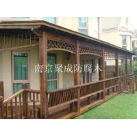 南京炭化木木材-南京聚成防腐木-9