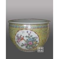 粉彩缸,粉彩陶瓷大缸,景德镇粉彩大缸,大缸