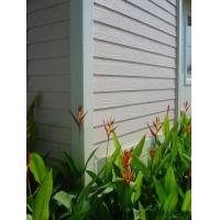 木紋理裝飾板外墻防水紋理美觀板品牌水泥板高密度板外墻掛板