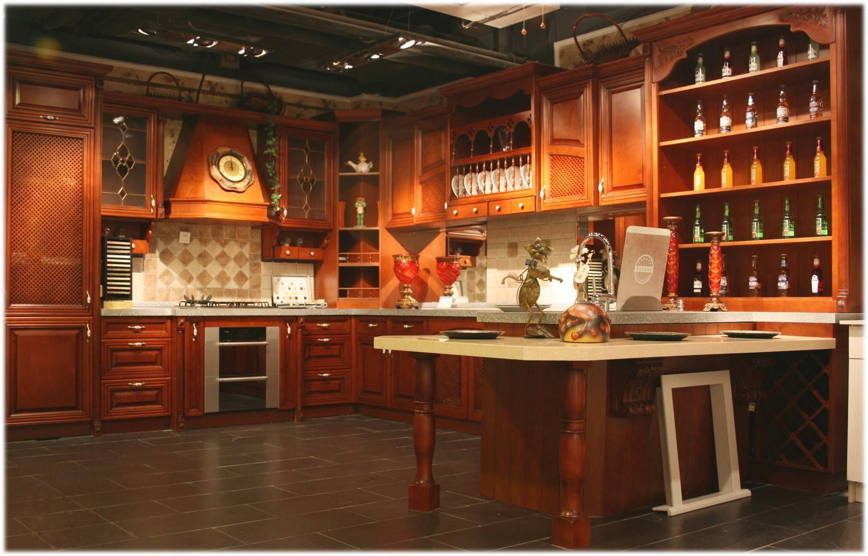 建材产品 厨柜厨具 整体厨房 实木橱柜 产品详细介绍