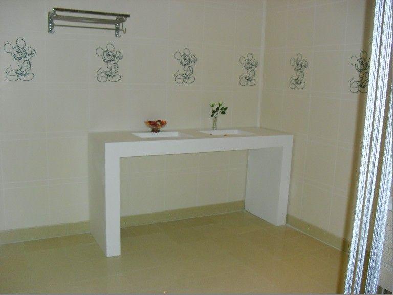 卫生间洗手台 - 陕西西安金石人造石建材丨飘窗台