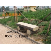 多功能型仿木圆木凳