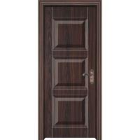 实木门厂家;贴原木皮复合实木烤漆门;广东钢木门业;好万家木门