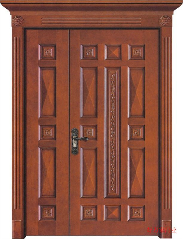 广东实木复合门实木门著名品牌佛山好万家门厂欢迎您的加盟