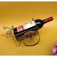 彩色不锈钢红酒展示架