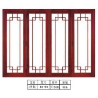 钛镁铝合金大折叠门