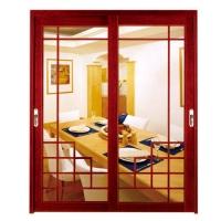 钛镁铝合金吊趟门,93料吊趟门,欧雅轩铝门窗
