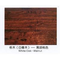 宝丰地板-实木地板-仿古地板-栎木(白橡木)-黑胡桃色