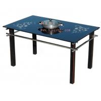 玻璃桌子 电磁炉桌 赛贝电磁炉桌 火锅电磁炉 电磁炉专用桌