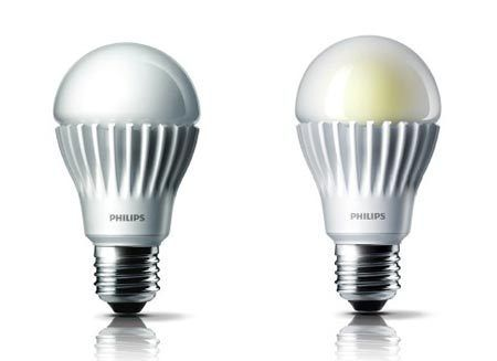 led灯泡和开关接线图
