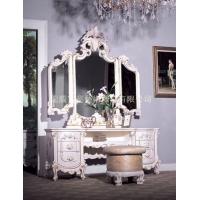 欧式梳妆台 妆台 穿衣镜 梳妆凳 妆凳
