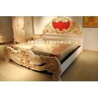 意大利家具卧室家具成人床龙腾新贵族
