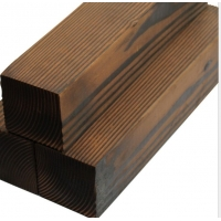 批发深度碳化木,表面碳化木,花旗松碳化木,南方松碳化木加工