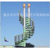 重庆钢结构旋转楼梯