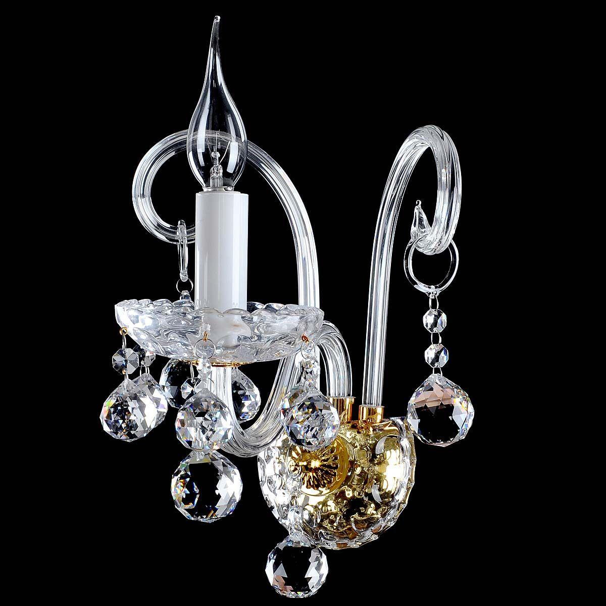 现代艺术欧式创意水晶床头壁灯