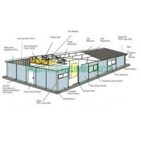 活动板房规格,活动板房结构,活动板房示意图