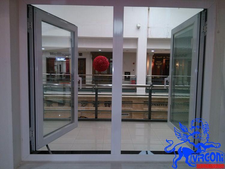 高档铝合金门窗 欧式平开窗 断桥铝合金窗 别墅平开窗