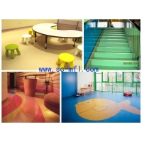 绵阳PVC地板幼稚园塑胶地板定制