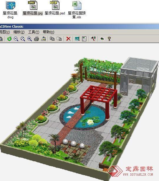楼顶花园设计施工产品图片