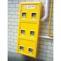 SMC新型机压燃气表箱安装效果图