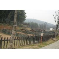 景区仿木栏杆(圆木)
