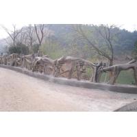 景区仿木栏杆(艺术木)