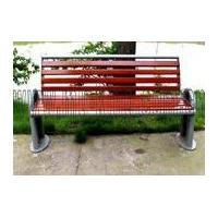 园林椅,防腐木园林椅,有靠背园林椅