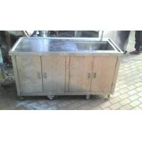 专业生产不锈钢水槽操作台,不锈钢桌