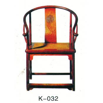 仿古木雕圈椅k-032