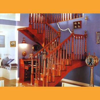 实木楼梯效果图006