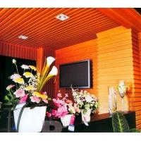 生态木电视背景墙