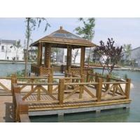 防腐木花架,木制品、外挂板、屋顶绿化地板、庭院木栅栏、广场及