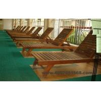 厂家供应私家花园实木躺椅TY-01