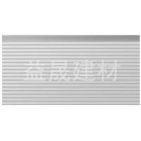 益晟 T307 条纹板 白灰 金属雕花保温板