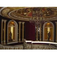 PU装饰线条,浮雕背景墙,镜框,灯座等