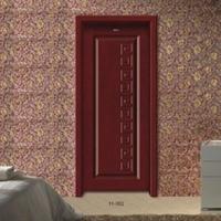 重庆品牌木门厂 室内套装门招商加盟 复合门工艺门代理11-0