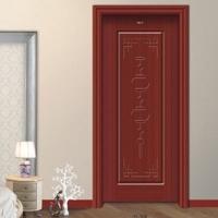 木门品牌招商  中国红实木复合门经销代理 雕刻工艺门