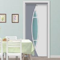 美升 中式实木玻璃门代理  工艺门加盟  套装门批发11-