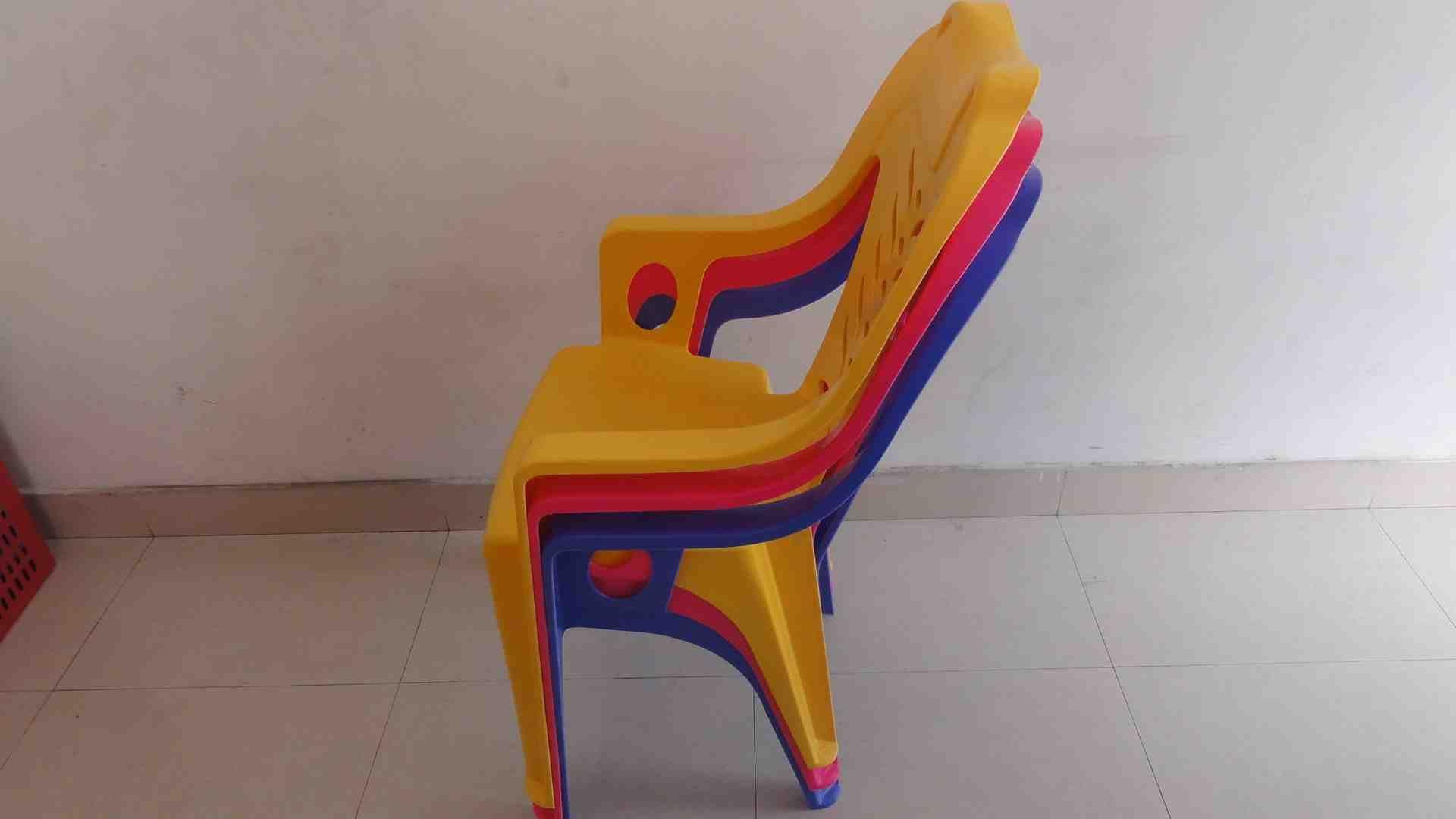 户外休闲塑料扶手椅