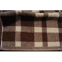 全棉加厚无捻大彩条方格高档俄罗斯方块毛巾