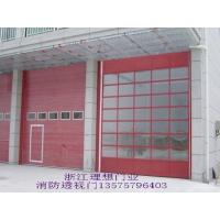 供应消防专用工业提升车库门/滑升门/透视工业门