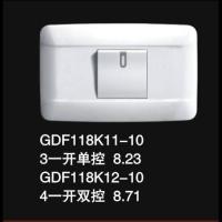GDF118K11-10 3一开单控开关 8.23