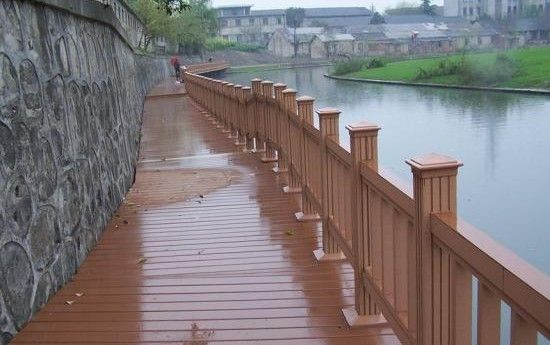 塑木地板 户外地板 花箱护栏长椅 外墙装饰 防腐木 塑木型材