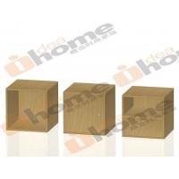 化零为整BOX收纳系统A1B1C1单元 金胡桃